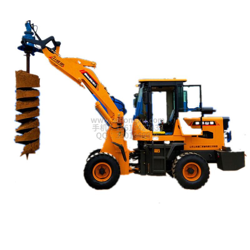 装载机挖坑机