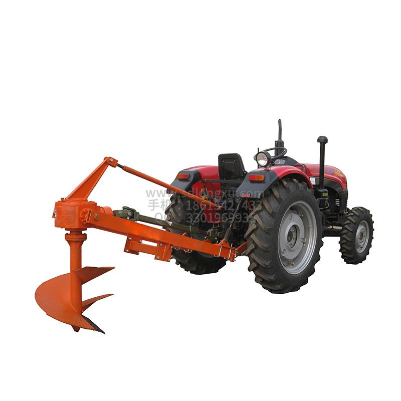 拖拉机挖坑机