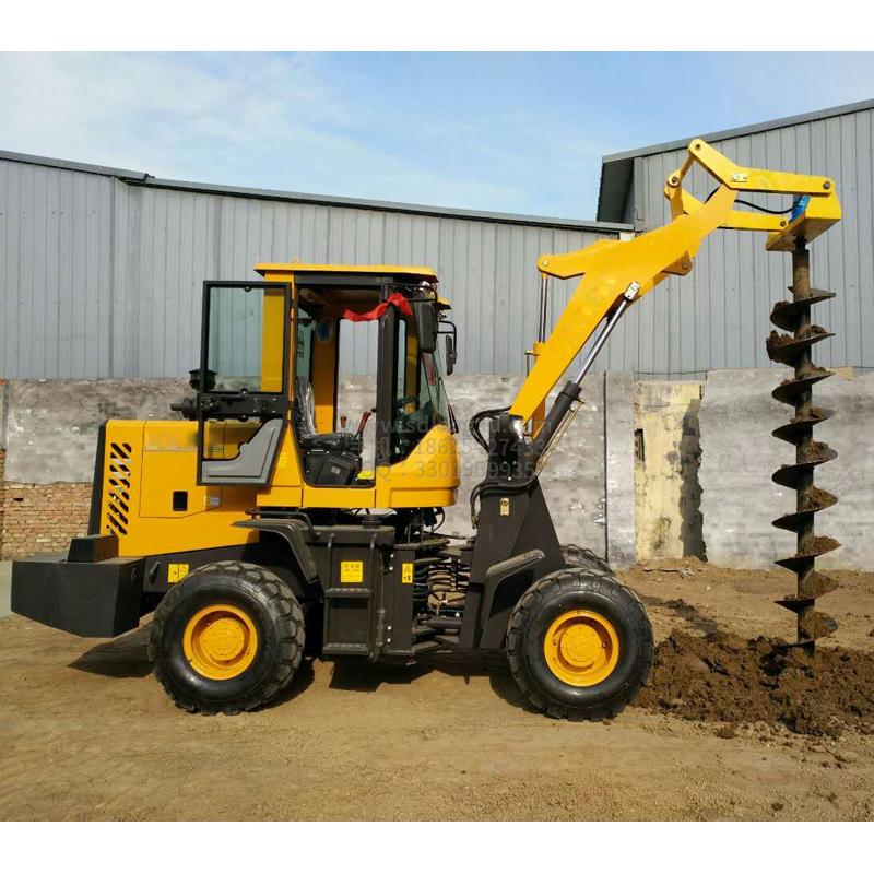 装载式挖坑机